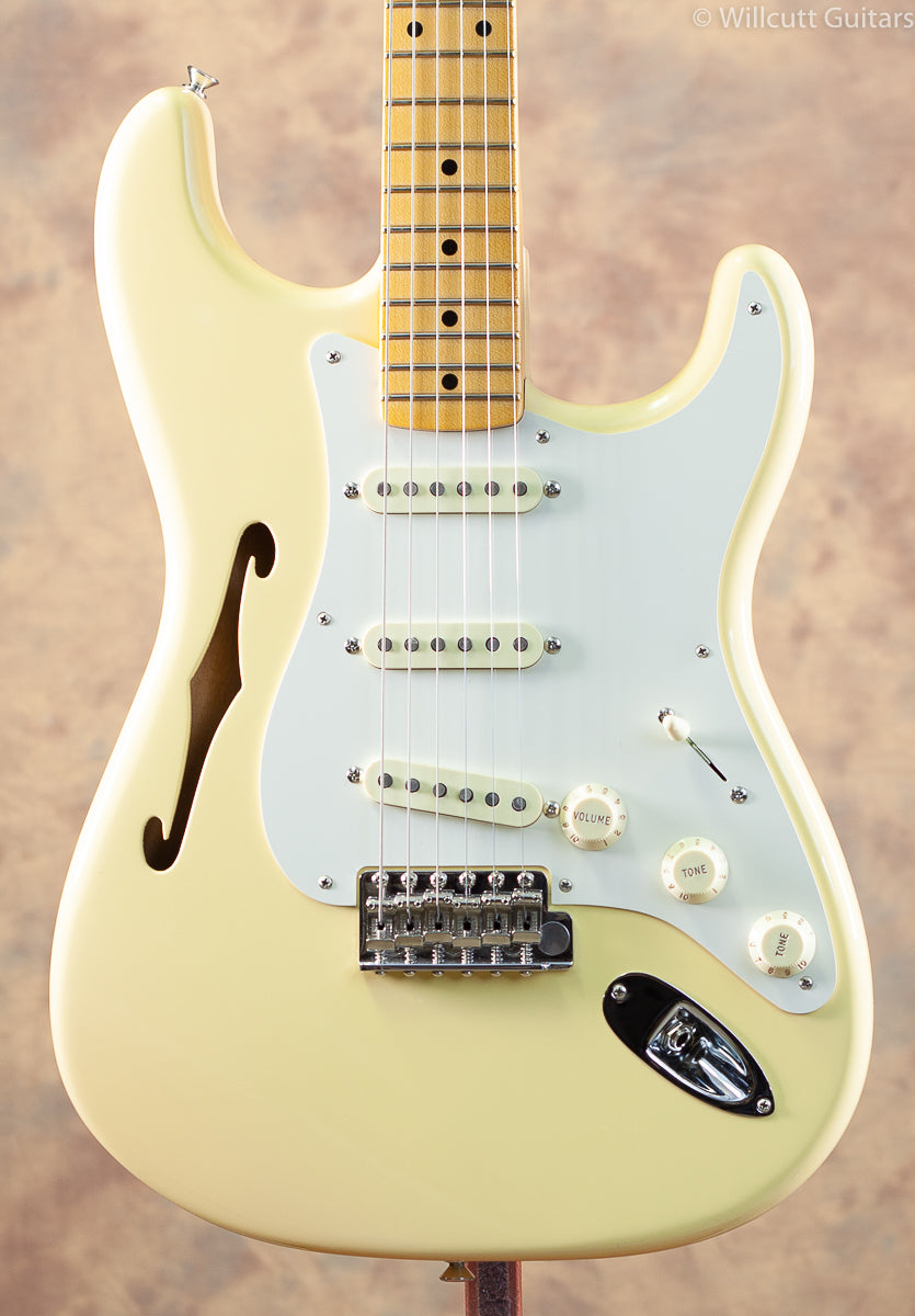 Fender Eric Johnson Thinline Stratocaster Vintage White USED