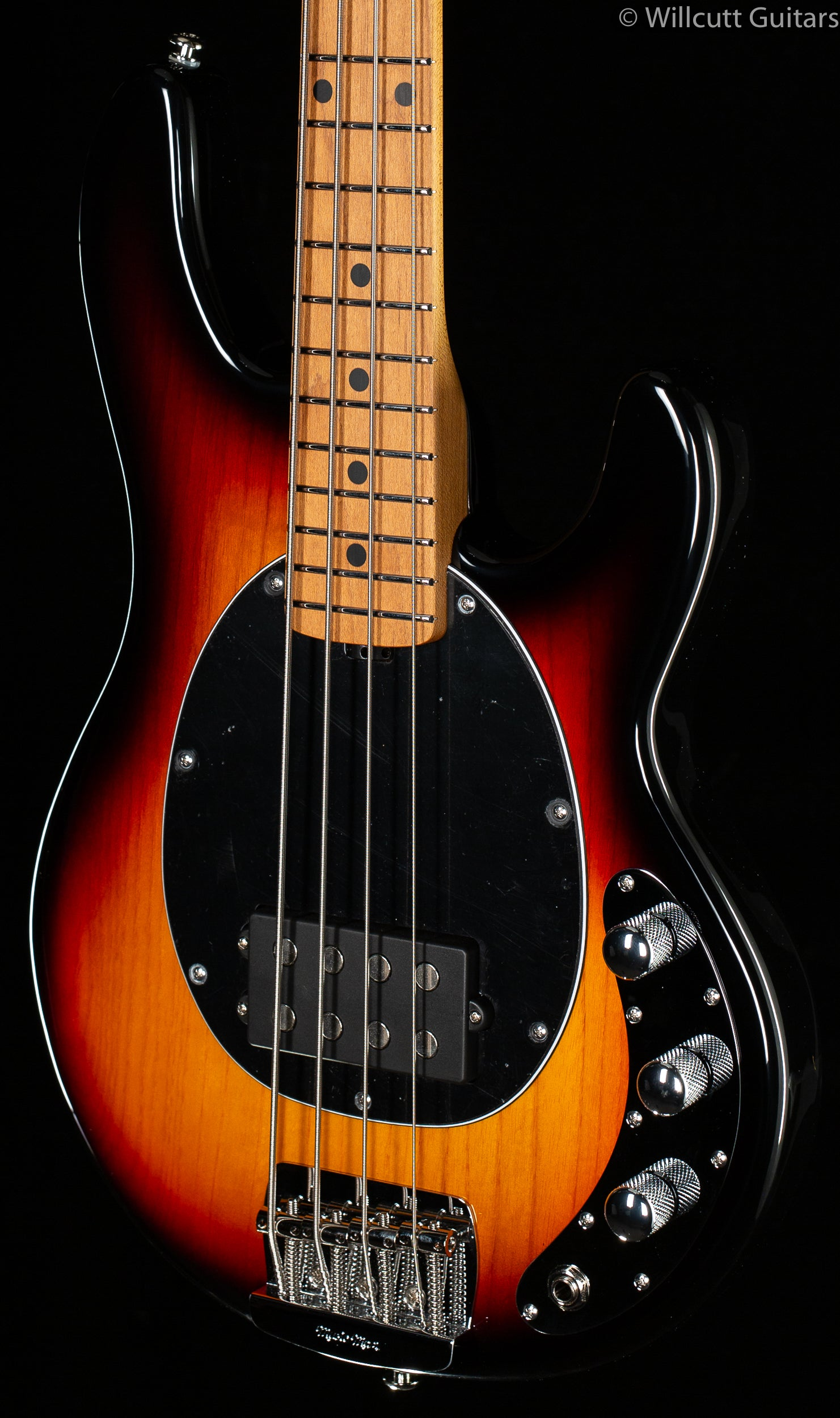 Ernie Ball Music Man Stingray Short Scale Bass Vintage Sunburst