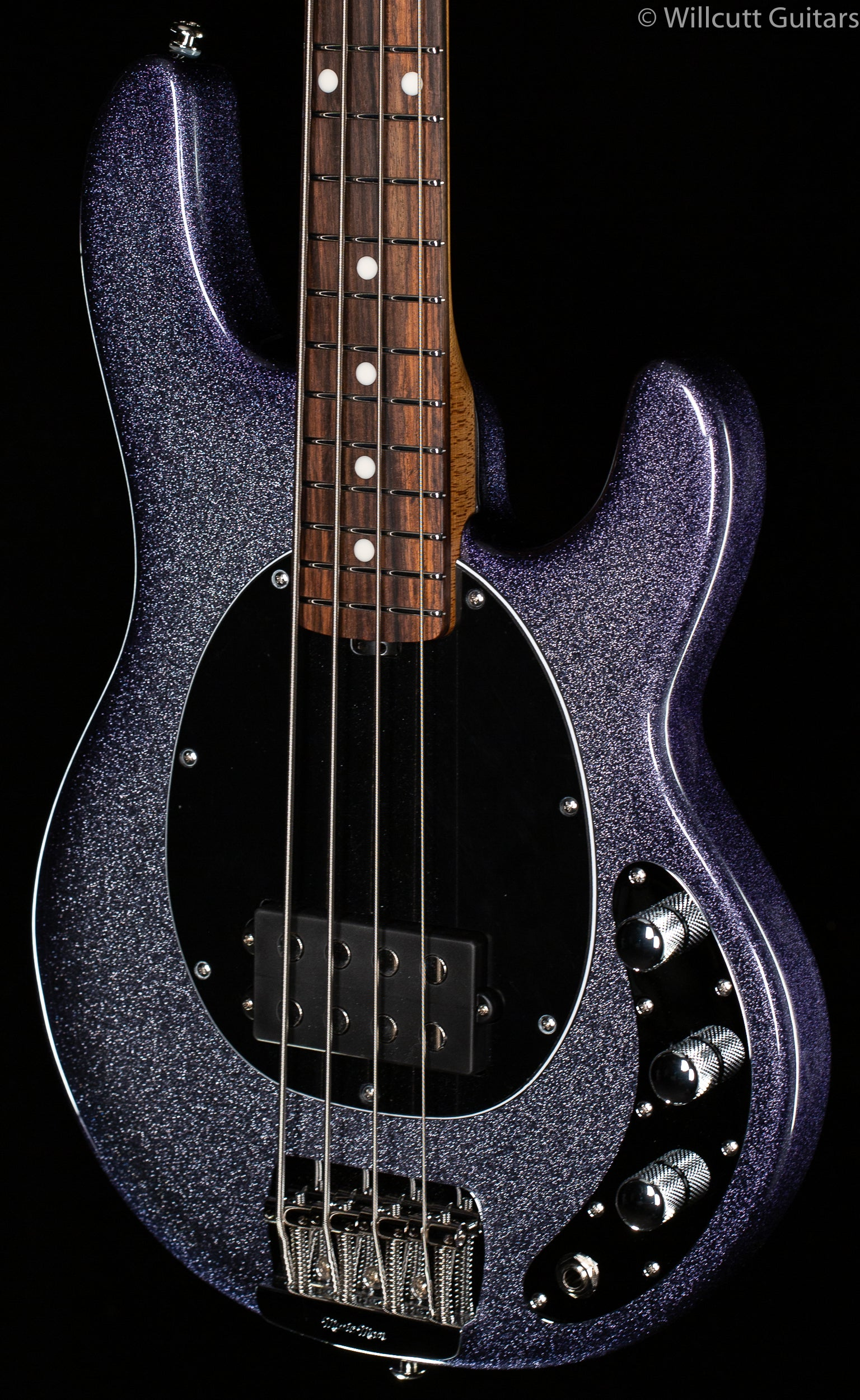 Ernie Ball Music Man Stingray Short Scale Bass Starry Night
