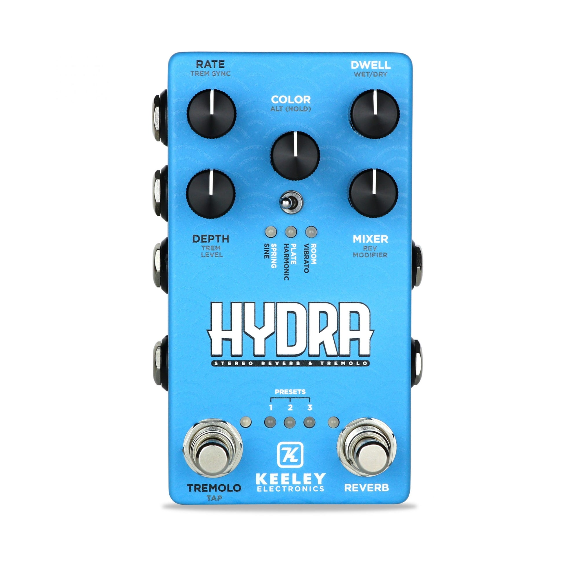 Keeley HYDRA Stereo Reverb & Tremolo
