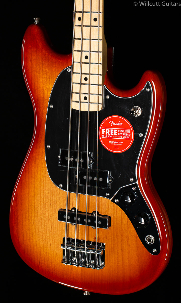 Fender Player Mustang Bass PJ Sienna Sunburst