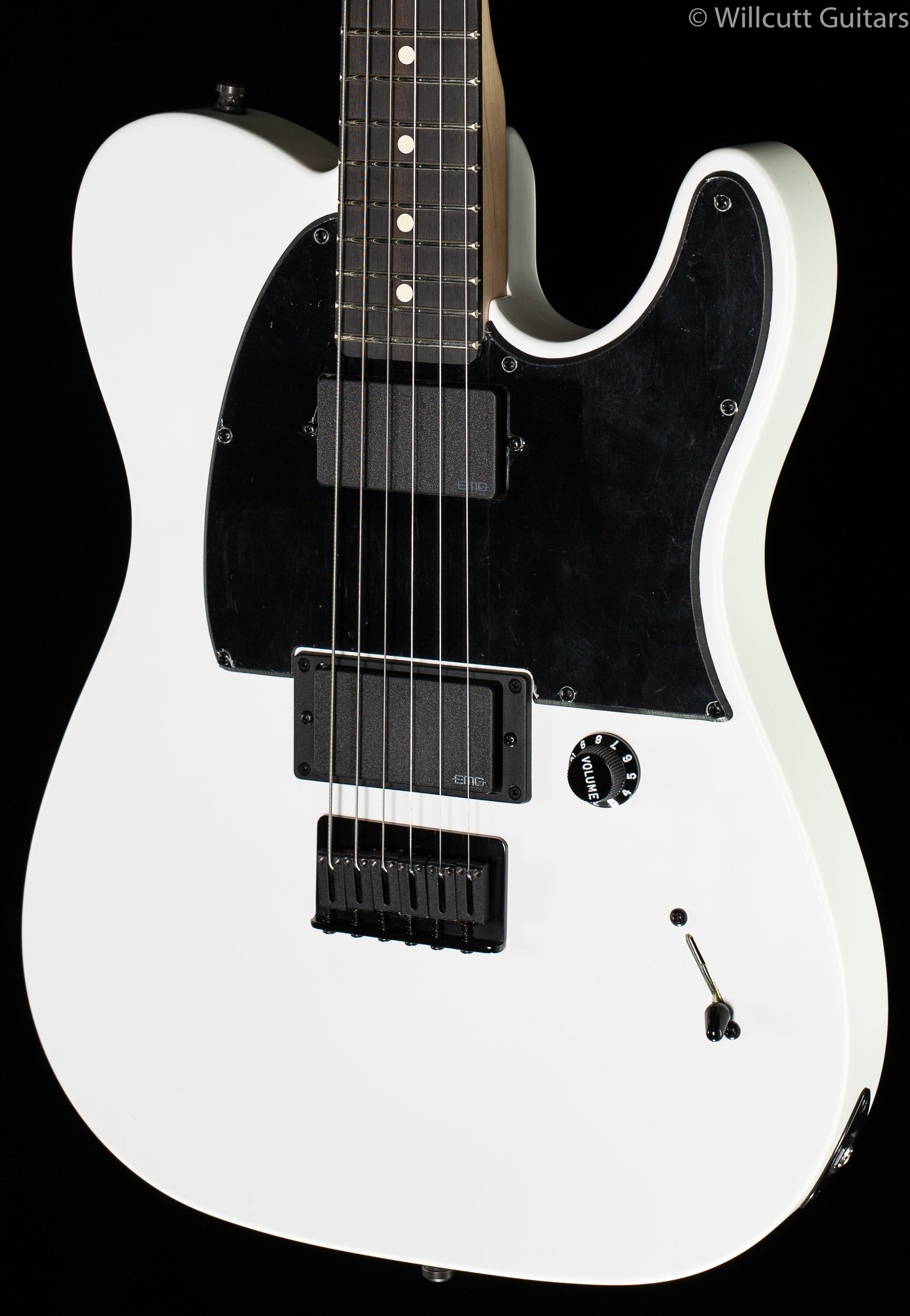 Fender Jim Root Telecaster Ebony White