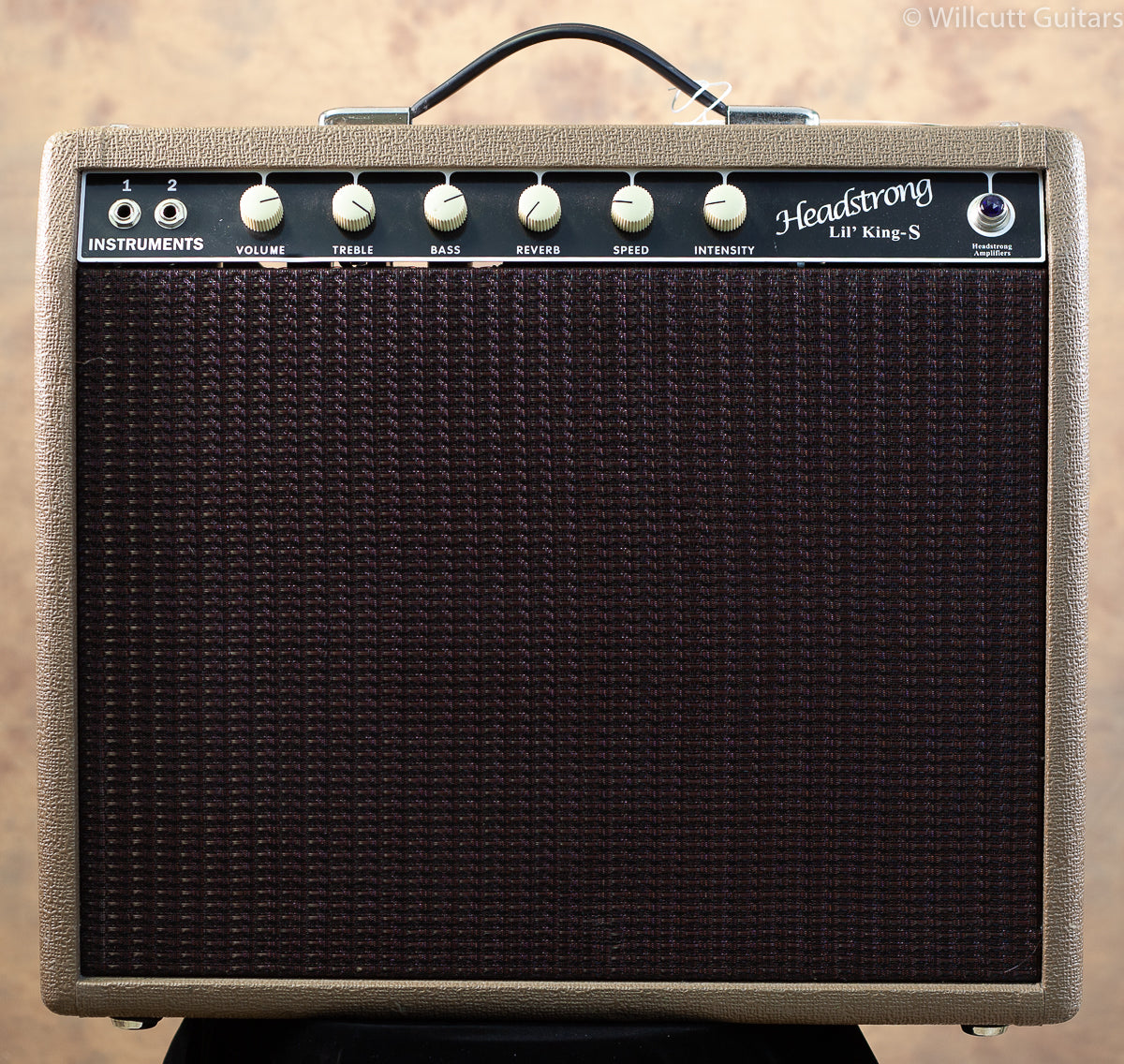 Headstrong Lil' King S Reverb Combo Blonde 1x12 USED