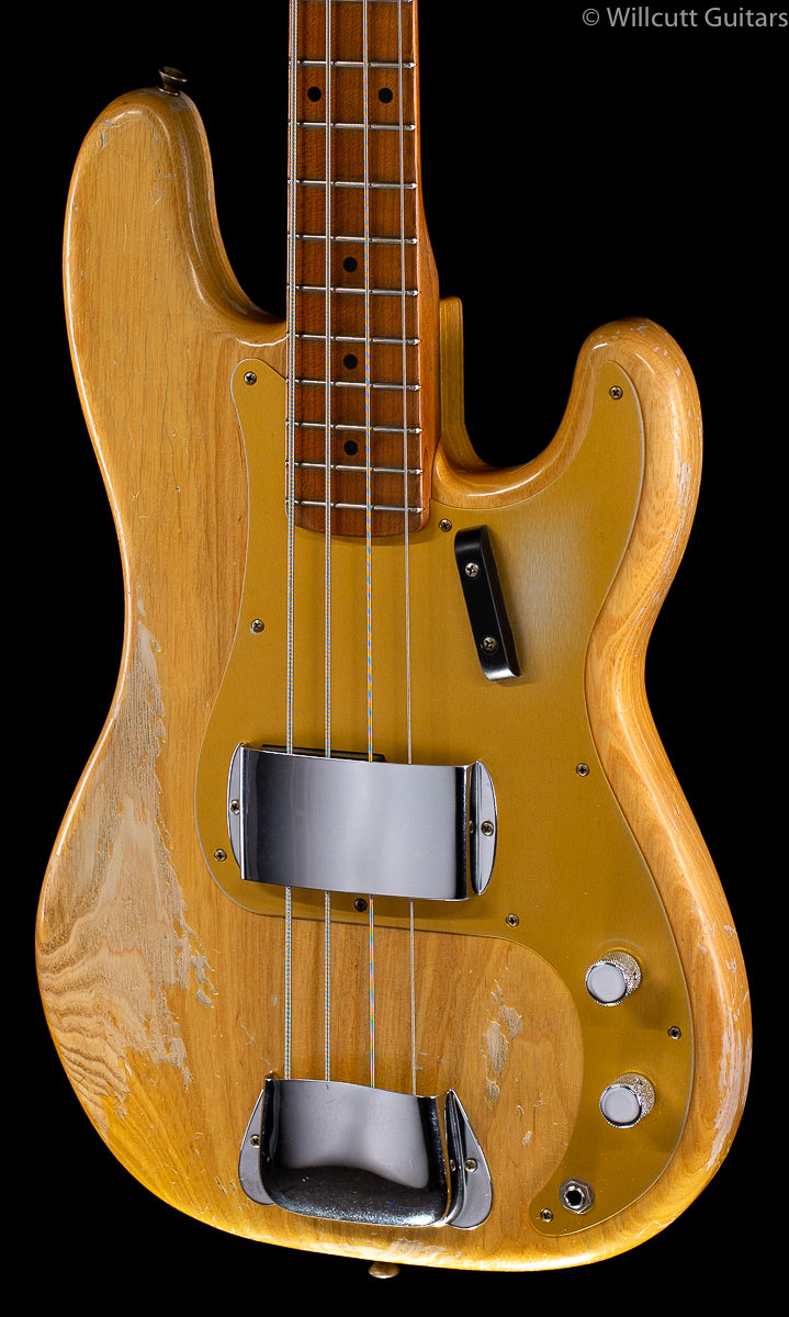 Fender Custom Shop 1958 Precision Bass® Heavy Relic® Natural Masterbuilt Dennis Galuzka (271)