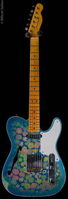 Fender Custom Shop LTD Double Esquire Custom Relic Aged Blue Flower (931)
