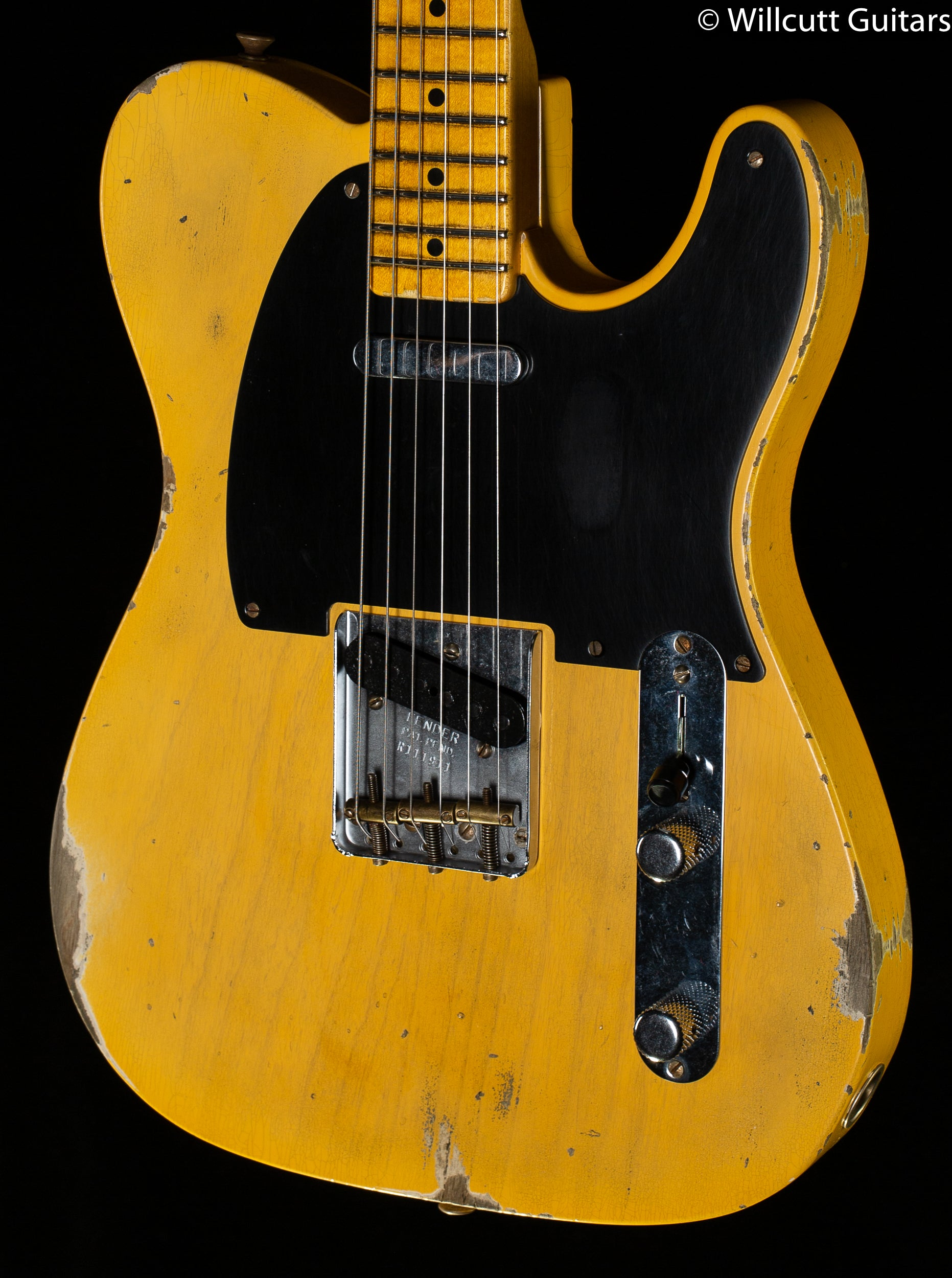 Fender Custom Shop LTD 70th Anniversary Broadcaster Relic Aged Nocaster Blonde