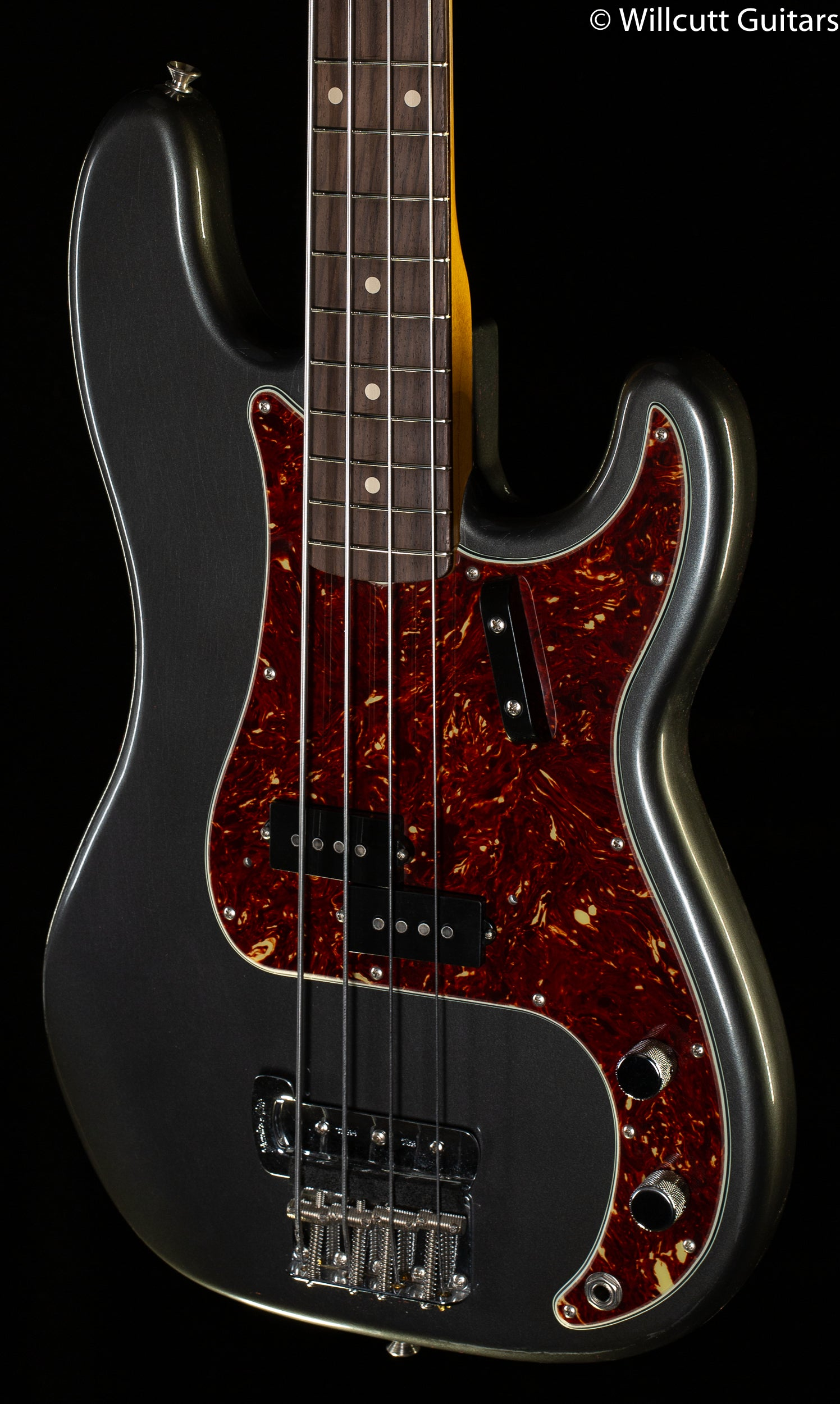 Fender Custom Shop Sean Hurley Signature 1961 Precision Bass Rosewood Fingerboard Aged Charcoal Frost