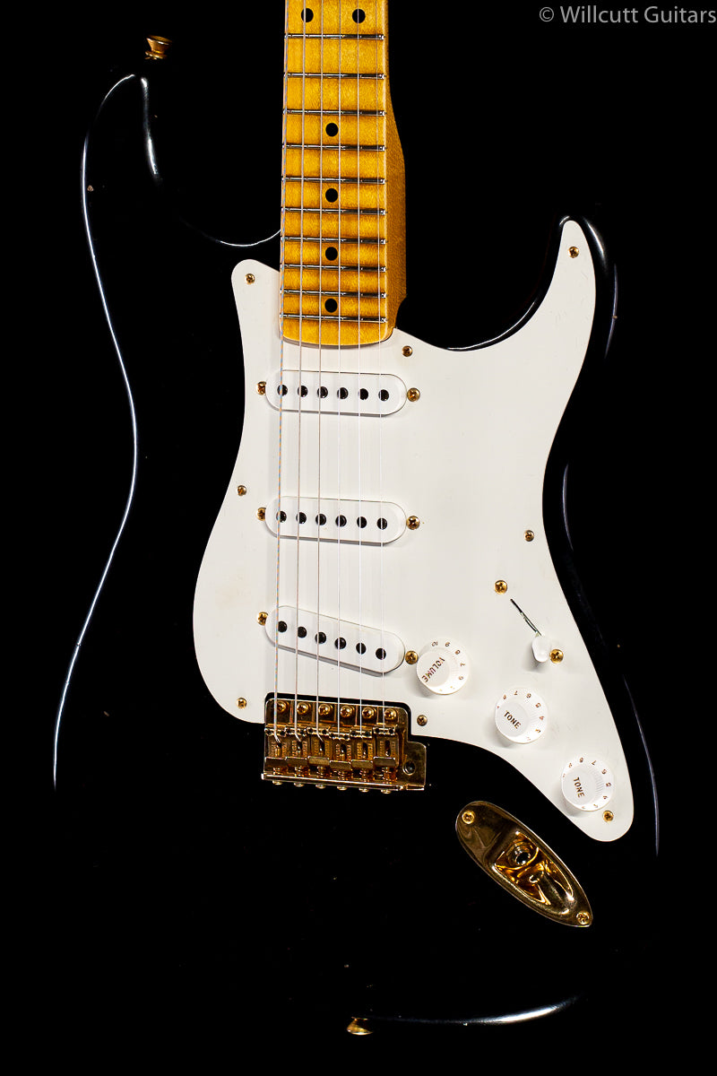 "Fender Custom Shop '57 ""Refin"" Strat Black Willcutt Limited (648)"