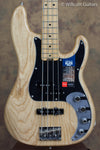 Fender American Elite Precision Bass Natural Ash USED (926)