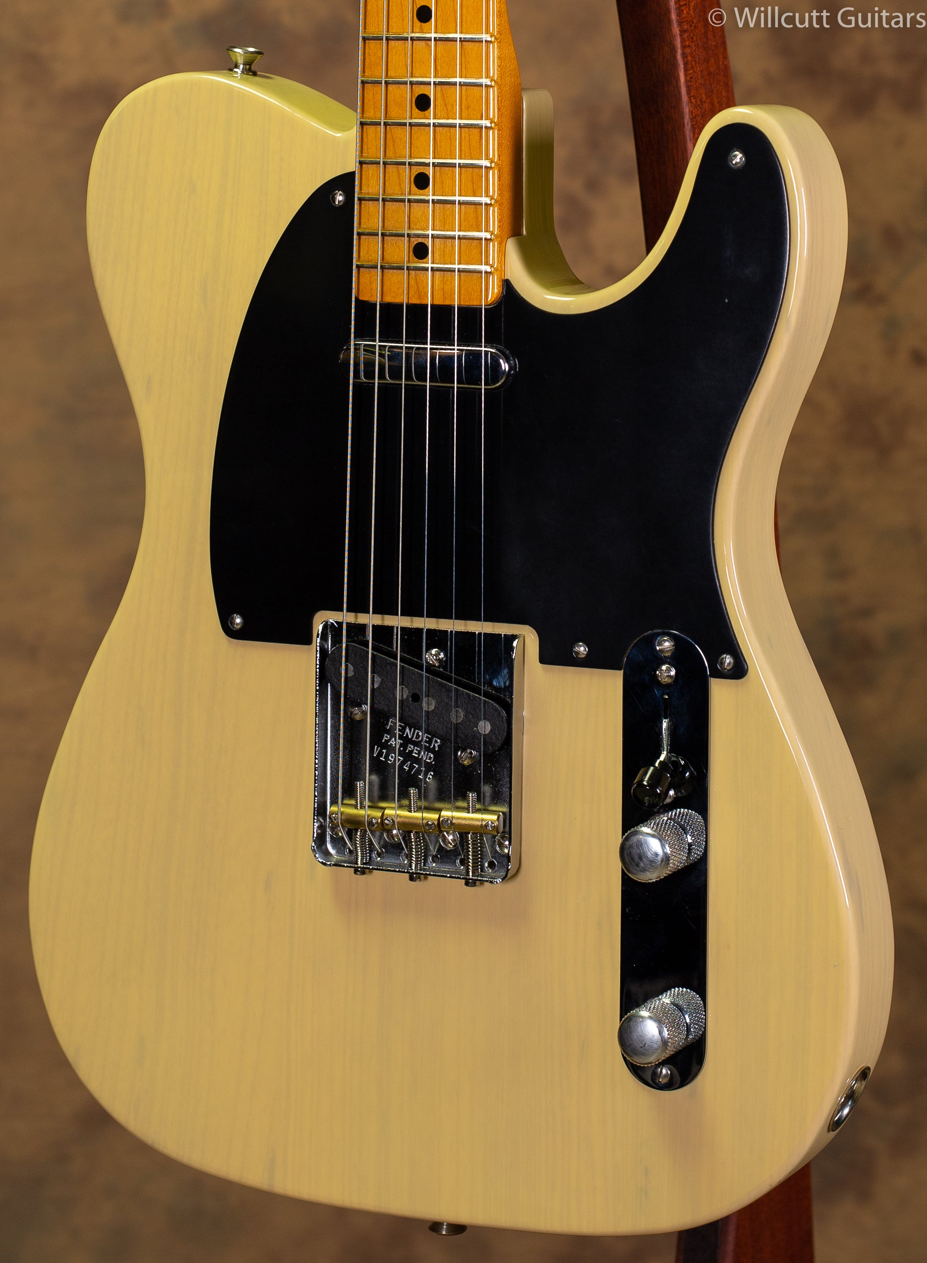 Fender USED 70th Anniversary Broadcaster Blackguard Blonde