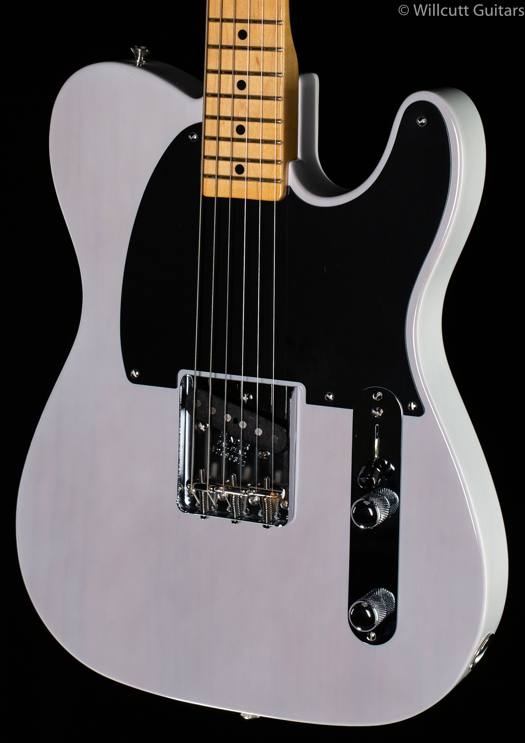 Fender 70th Anniversary Esquire White Blonde Maple Fingerboard