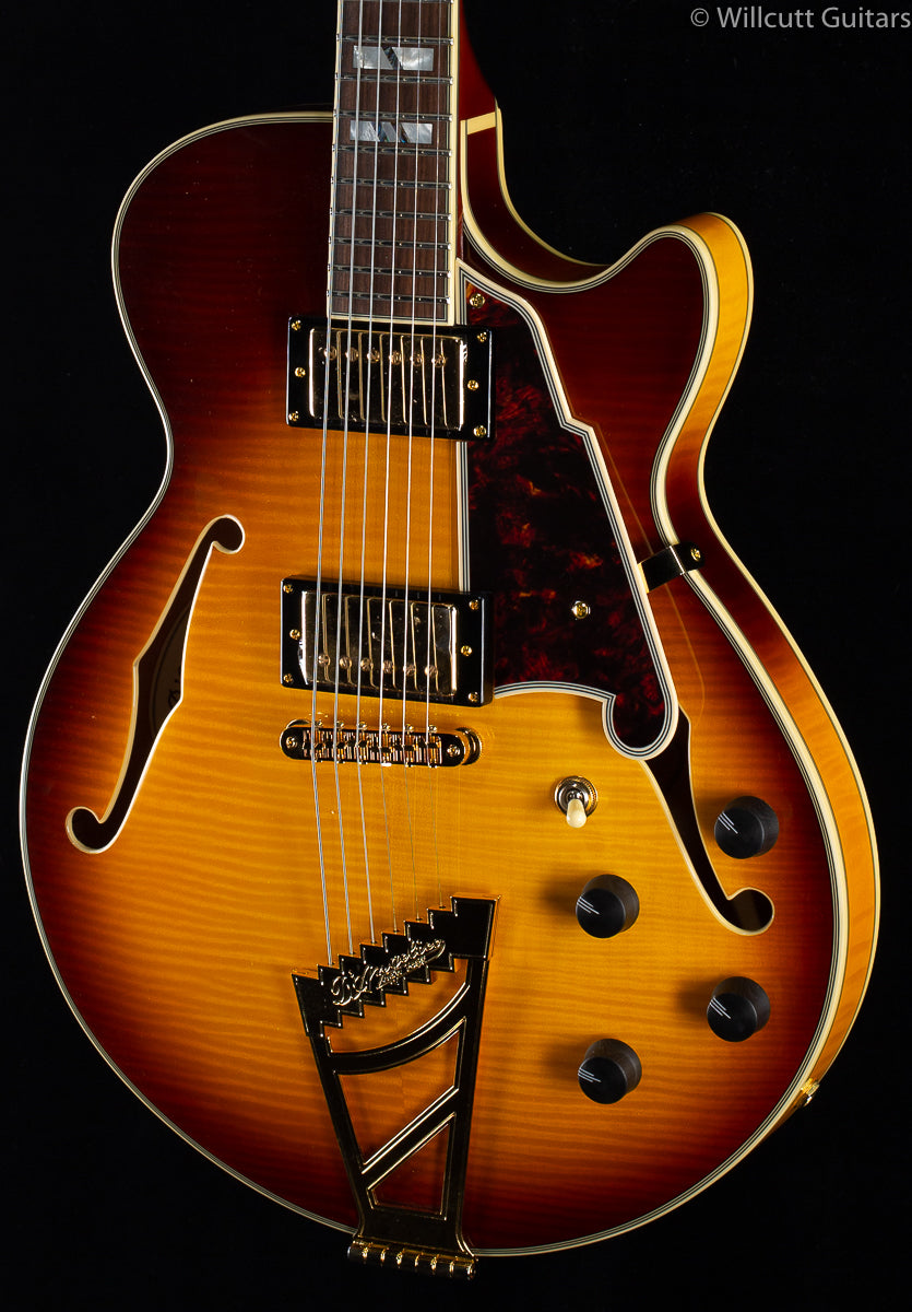 D'Angelico Excel SS Stairstep Iced Tea Burst (916)