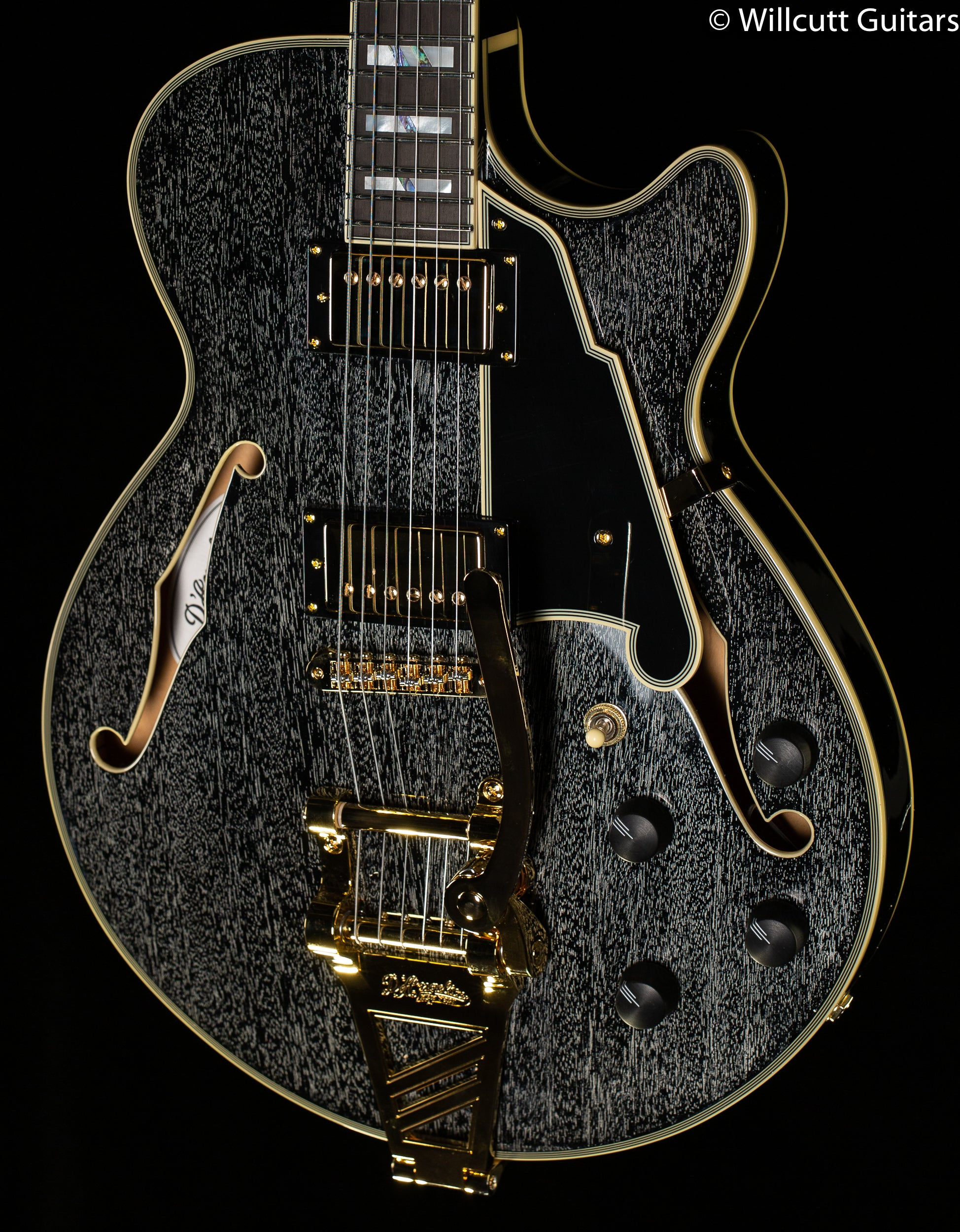 D'Angelico Excel SS Black Dog