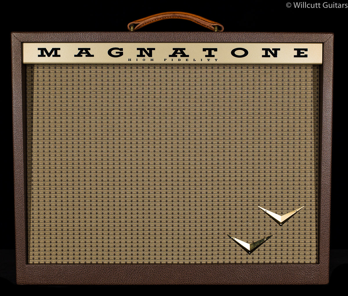 Magnatone Panoramic Stereo 210, Combo Vintage Brown