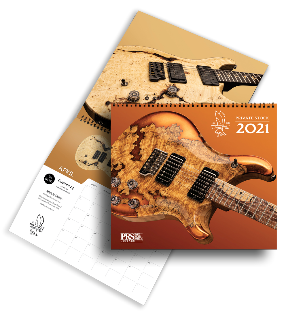 PRS Private Stock Calendar 2021