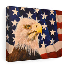 "Load image into Gallery viewer, ""Home Of The Brave"" Print Canvas Gallery Wraps"