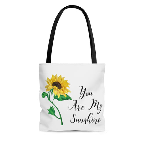 You Are My Sunflower Tote Bag