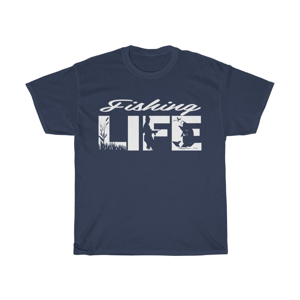 Fishing Life Heavy Cotton Tee