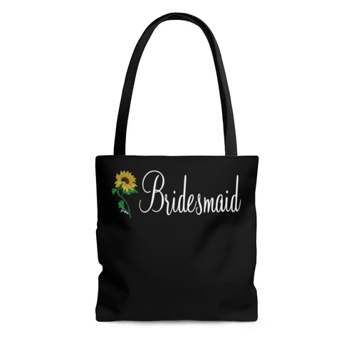 Bridesmaid AOP Tote Bag
