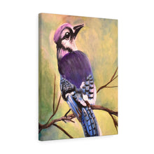Load image into Gallery viewer, Blue Jay Print Canvas Gallery Wraps