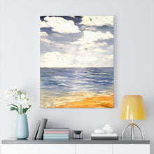 Load image into Gallery viewer, Beach Print Canvas Gallery Wraps
