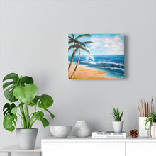 Load image into Gallery viewer, Palm Tree Print Canvas Gallery Wraps