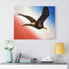"Load image into Gallery viewer, ""Land Of The Free"" Acrylic Painting Print Canvas Gallery Wraps"