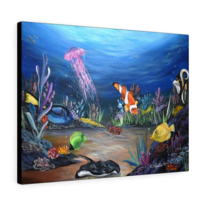 Finding Nemo Print Canvas Gallery Wraps