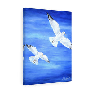 """Fly High"" Acrylic Painting Print Canvas Gallery Wraps"