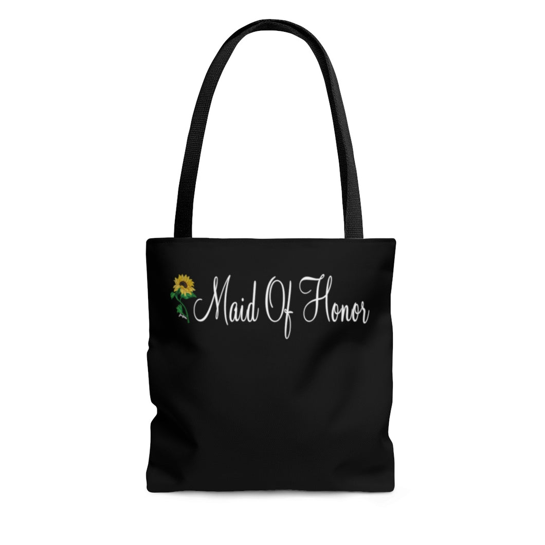 Sunflower Made Of Honor AOP Tote Bag