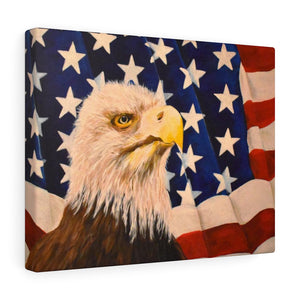 """Home Of The Brave"" Print Canvas Gallery Wraps"
