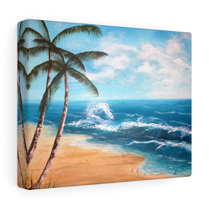Palm Tree Print Canvas Gallery Wraps