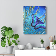 Load image into Gallery viewer, Butterfly Acrylic Painting Prints Canvas Gallery Wraps