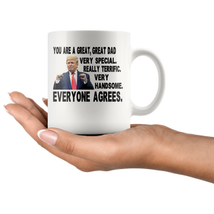 You Are A Great Dad Trump Mug