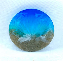 Load image into Gallery viewer, Beach Resin Coasters
