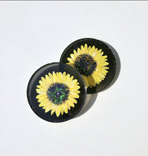 Load image into Gallery viewer, Hand Painted Sunflowers Resin Coasters