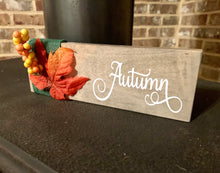 Load image into Gallery viewer, Autumn Wooden Sign