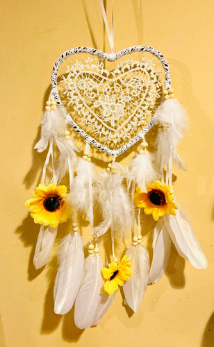 Sunflower Dream Catcher