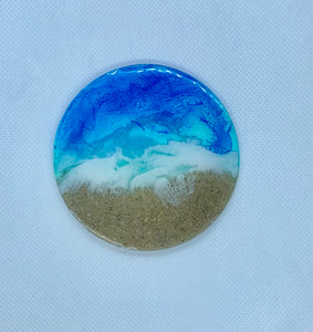 Beach Resin Coasters