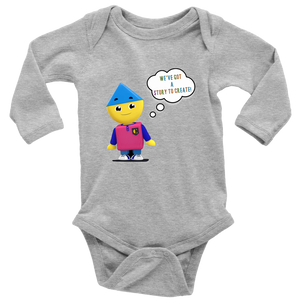 Charlie's Colorform City Short Sleeve Infant Long Sleeve Onesie