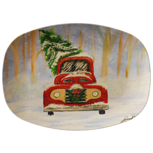 Load image into Gallery viewer, Christmas Truck Serving Platter