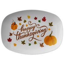 Load image into Gallery viewer, Happy Thanksgiving Platter