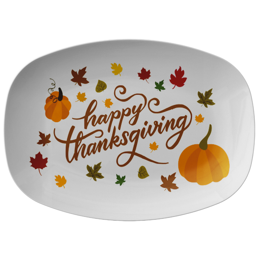 Happy Thanksgiving Platter