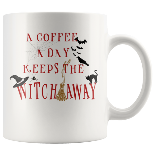A Coffee A Day Keeps The Witch Away