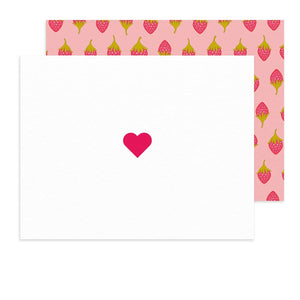 Insignia Heart Card - Set of 8