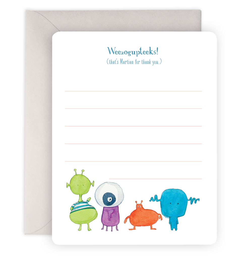 Weezogupteeks Social Notes Boxed Set of 8