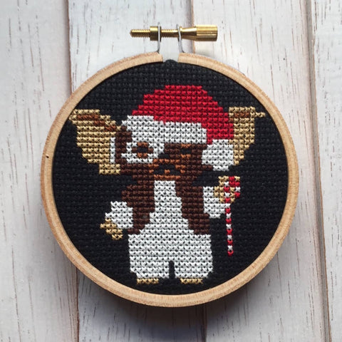 Holiday Gizmo Cross Stitch Kit