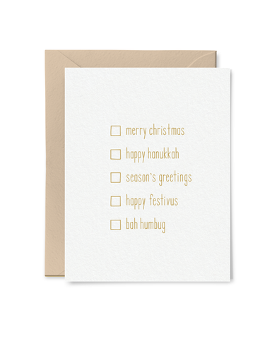 All-Purpose Holiday Card