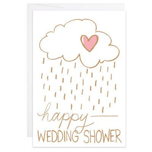 Happy Wedding Shower - Mini Card