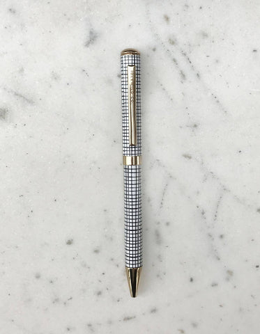 Grid Luxe Writing Pen
